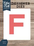 Letter F Die Set