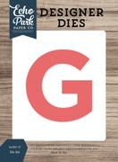 Letter G Die Set