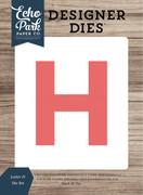 Letter H Die Set