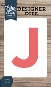 Letter J Die Set