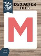 Letter M Die Set