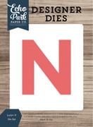 Letter N Die Set