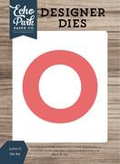 Letter O Die Set