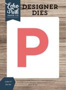 Letter P Die Set