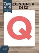 Letter Q Die Set