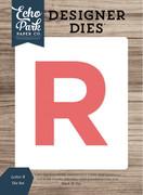 Letter R Die Set