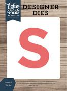Letter S Die Set