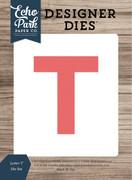 Letter T Die Set
