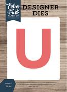 Letter U Die Set