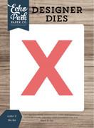 Letter X Die Set