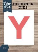Letter Y Die Set