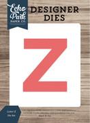 Letter Z Die Set