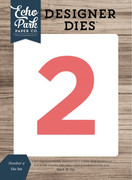 Number 2 Die Set