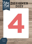 Number 4 Die Set