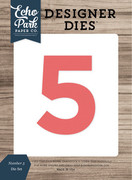 Number 5 Die Set