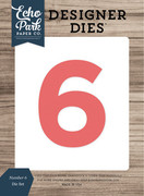 Number 6 Die Set