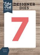 Number 7 Die Set