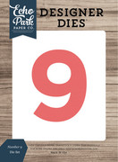 Number 9 Die Set