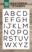 James Alphabet Stamp