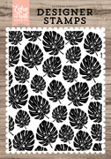 Palm Leaves A2 Background Stamp