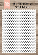 Polka Dot A2 Background Stamp