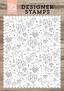 Constellation Love A2 Background Stamp