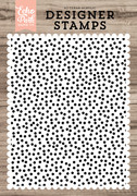 Mini Confetti A2 Background Stamp