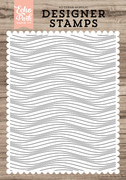 Make Waves A2 Background Stamp