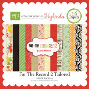 For The Record 2 Tailored Paper Pack #2