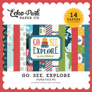 Go See Explore Paper Pack #1