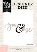 You & Me Word Die Set
