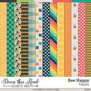 Bee Happy Paper Pack