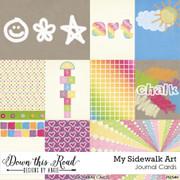 My Sidewalk Art Journal Cards