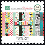 Happy Days Paper Pack #2