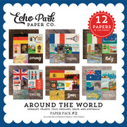 Around the World Paper Pack #2