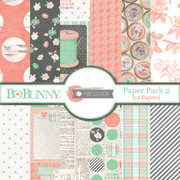 Pincushion Paper Pack 2