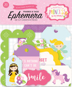 Perfect Princess Frames & Tags Ephemera