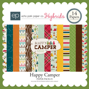 Happy Camper Paper Pack #1