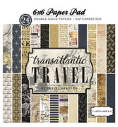 Transatlantic Travel 6x6 Paper Pad