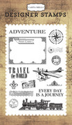 Travel the World Stamp