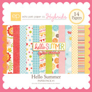 Hello Summer Paper Pack #1