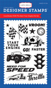 Start Your Engine Stamp