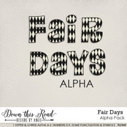 Fair Days Alpha Pack