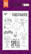 Halloween Costumes Stamp