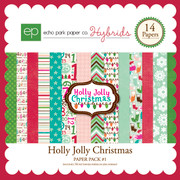 Holly Jolly Christmas Paper Pack #1