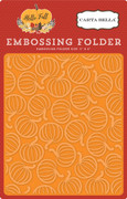 Hello Fall Embossing Folder - Pumpkin Patch