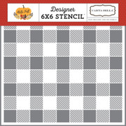 Buffalo Plaid Stencil