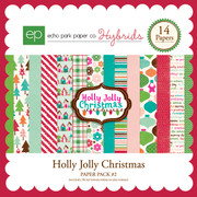 Holly Jolly Christmas Paper Pack #2