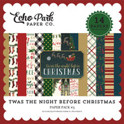 Twas the Night Before Christmas Paper Pack #3