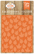A Perfect Autumn Embossing Folder - Autumn Leaves